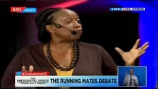Presidential running mates abscond the presidential running mate debate