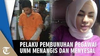 Kasus Pembunuhan Pegawai UNM, Wahyu Jayadi Menangis dan Menyesali Perbuatannya