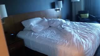 Free hotel room...