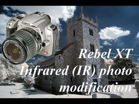 Модификация Canon 350d для инфракрасной съемки
