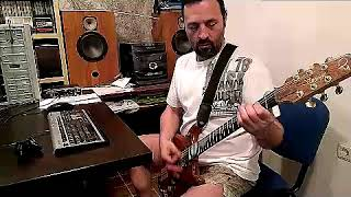 Anthrax - Finale  guitar playthrough