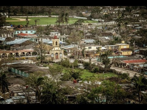 Municipio de Esmeralda, en Camagüey, tras el paso del huracán Irma