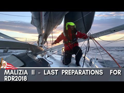 Malizia II - Last preparations for RDR2019