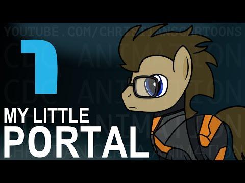 Unlikely Fan Fiction Crossover Presents: My Little Portal