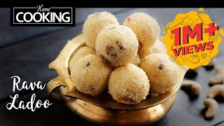 Rava Ladoo   Sooji Ladoo   Quick Indian Sweets