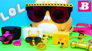 #Куклы ЛОЛ ОГРОМНЫЙ ПИТОМЕЦ Хомяк! Сюрпризы Игрушки LOL SURPRISE Мультики для детей Лалалупси