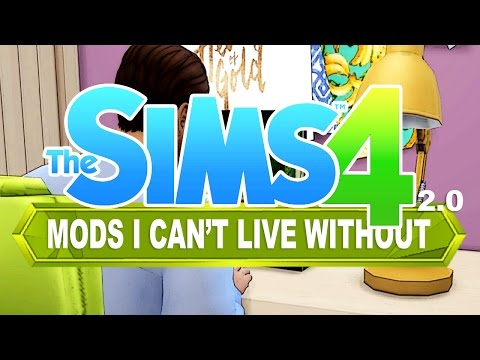 The Sims 4 | Mods I Can't Live Without #2 - Музыка для Машины