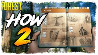 The Forest | HOW TO FIND ALL BLUEPRINTS | New Update Structures