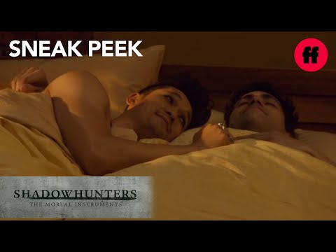 #Malec In Bed | Sneak Peek: Season 2, Episode 18 | Shadowhunters