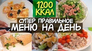 ДНЕВНИК ПИТАНИЯ на день на 1200 ккал / Что есть в течение дня МОТИВАЦИЯ НА ПОХУДЕНИЕ система питания