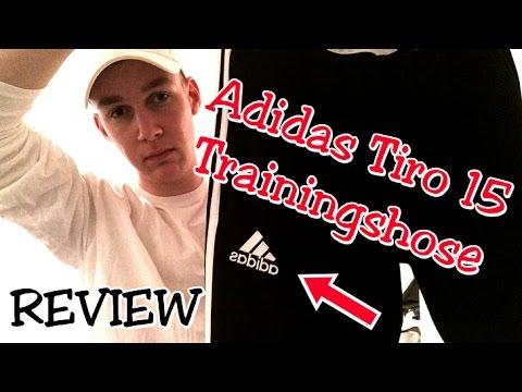 Adidas Tiro 15 Trainingshose REVIEW