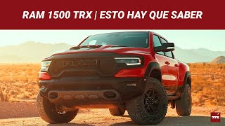 RAM 1500 TRX, un meteorito en forma de pick up de 702 hp que quiere extinguir a un Raptor en especial