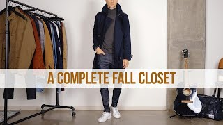 How To Build A Fall Wardrobe From Scratch | Men's Fashion Essentials