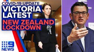Coronavirus: Victoria COVID-19 update, NSW cluster, Auckland lockdown begins | 9News Australia