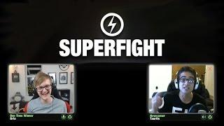 SUPERFIGHT! /w Gareth & Taurtis