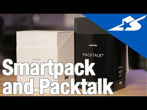 Scala Rider Smartpack and Packtalk | Motorcycle Superstore