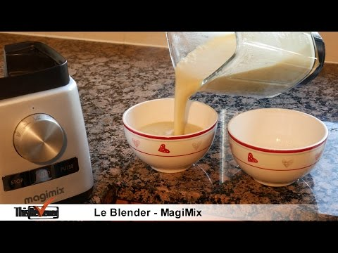 Blender review, making soup, fun dessert with the Le Blender