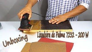 Lixadeira treme treme skil 7232 - 200 W -vídeo teste e unboxing