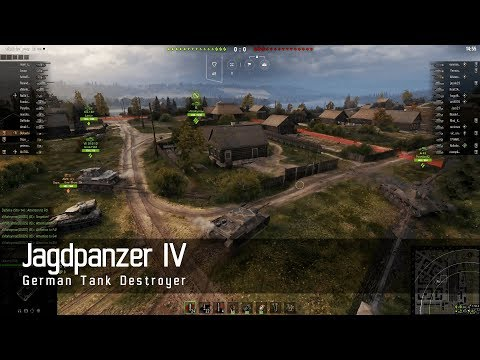 World of Tanks – German Tech Tree - Tank destroyer – Jagdpanzer IV – Ensk