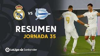 El Real Madrid logra otra importante victoria por el título de Liga con los goles de Benzema de penalti y de Marco Asensio #RealMadridAlavés J35 LaLiga Santander 2019/2020  Suscríbete al canal oficial de LaLiga Santander en HD http://goo.gl/Cp0tC Subscribe to the Official Channel of LaLiga in High Definition http://goo.gl/Cp0tC  LaLiga Santander on YouTube: http://goo.gl/Cp0tC LaCopa on YouTube: http://bit.ly/1P4ZriP LaLiga SmartBank on YouTube: http://bit.ly/1OvSXbi Facebook: https://www.facebook.com/laliga Twitter: https://twitter.com/LaLiga Instagram: https://instagram.com/laliga Google+: http://goo.gl/46Py9