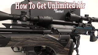 UNLIMITED AIR: Airgun Recharging - Air Venturi Home Compressor