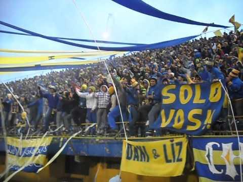 """""""Chancholigan´s clausura 2012. RECIBIMIENTO AL AURIAZUL"""" Barra: Chancholigans • Club: Sportivo Luqueño"""