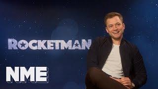 Rocketman's Taron Egerton On Elton, Eddie The Eagle And Bond