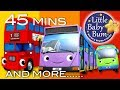 Bus Song Different Types of Buses Plus More Nursery Rhymes 45 Minutes from LittleBabyBum