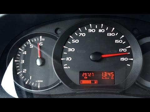 Kia sid 1.6 Benzin der Brennstoffverbrauch auf