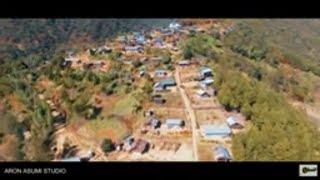 Yezashi Village    Zunheboto    Nagaland    North East    Aerial View    DJI Phantom 4    2021