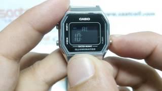 Casio Retro LA680WA-1DF Inceleme Ve Ayarlama