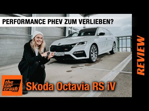 Skoda Octavia Combi RS iV (2021) ⚡ Performance Plug-in Hybrid zum Verlieben? ❤️ Fahrbericht | Review