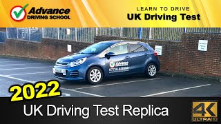 2020 UK Driving Test Replica (full route with Sat-Nav / manual car)