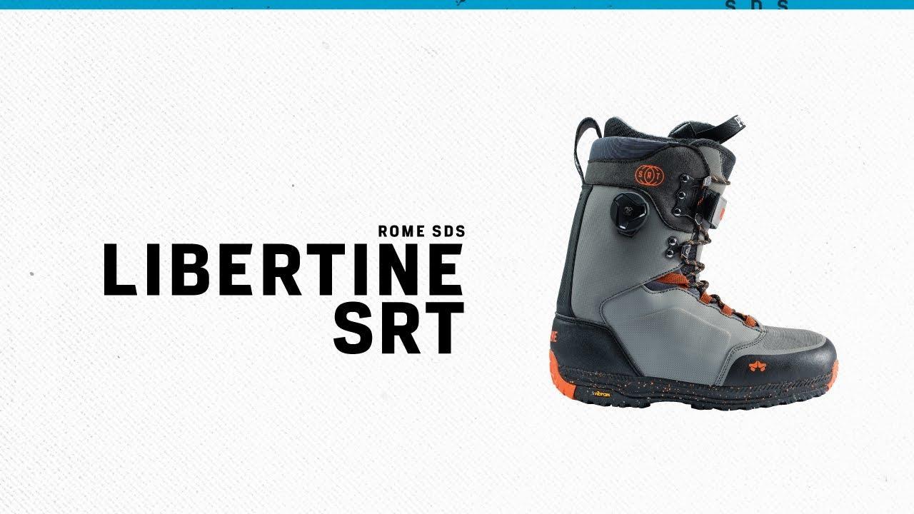 0b7c0e59b78 Rome Libertine SRT Boot | Rome Snowboard Design Syndicate 2019