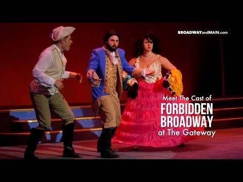 Meet The Cast of Forbidden Broadway at The Gateway