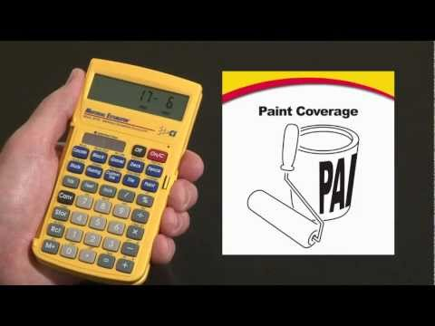 Material Estimator - Paint Coverage Calculations