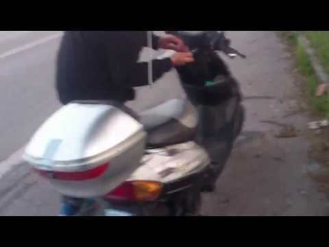 Der Preis für das Benzin a-92 das krumme Horn