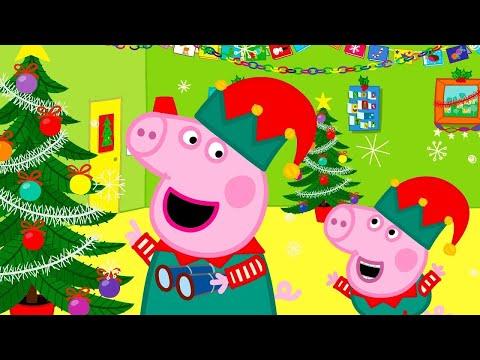 Свинка Пеппа на Pусском   Новогоднее настроение   Мультики видео