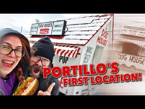 The original Portillo's Dog House! (Villa Park , Illinois)