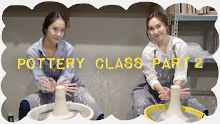 Pottery Class With Soojung Part 2