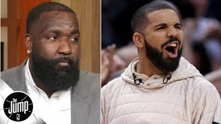 Kendrick Perkins on trash-talking Drake: 'You really want this smoke with me?'   The Jump
