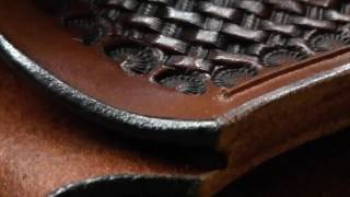 A. De Carli Custom Knives - Leathercraft: making a knife sheath