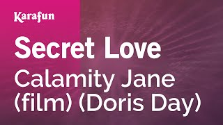 Karaoke Secret Love - Doris Day *