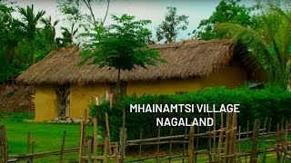 Mhainamtsi village in Jalukie, Nagaland