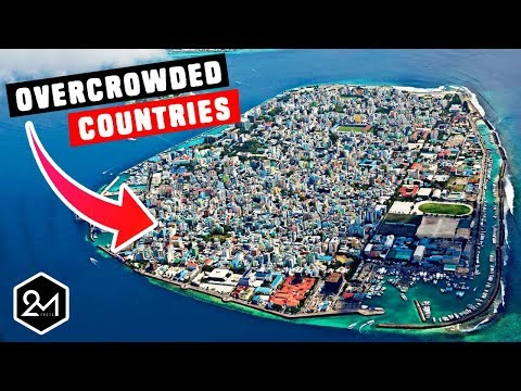Top 10 Most Overcrowded Countries In The World 2018