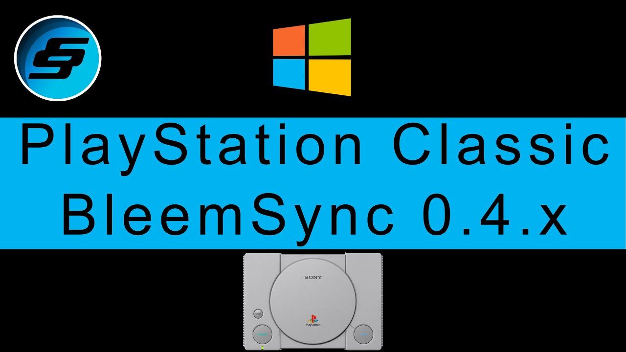 Download PlayStation Classic BleemSync 0 4 x (0 4 0, 0 4 1+