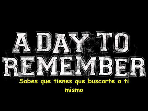 A Day To Remember - My Life For Hire (Sub Español)