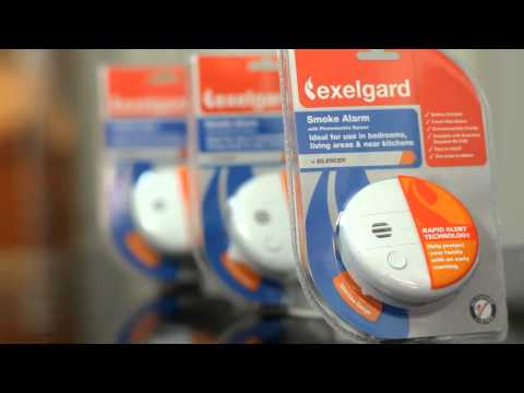 The range of Exelgard Smoke Alarms