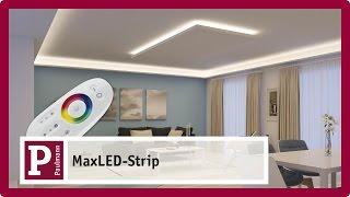 Indirect, glare-free LED lighting with MaxLED Strips