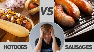 Hotdog VS Sausage Comparison   TricycleTV
